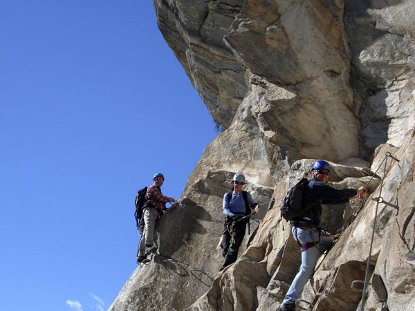 Klettersteig Zermatt : Klettersteig schweifinen route b zermatt schweiz