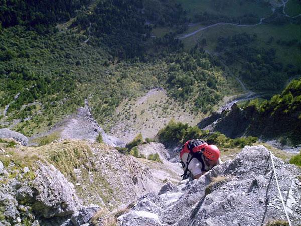 Klettersteig Zermatt : Klettersteige schweifinen route a