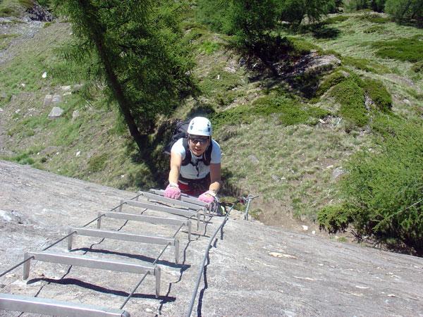 Klettersteig Zermatt : Active dreams bergführer weissmies gornerschlucht zermatt