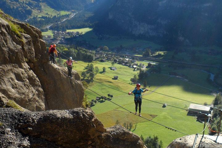 Klettersteig Zermatt : Mammut klettersteig