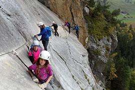 Klettersteig Basel : Klettersteig kandersteg  sac sektion zermatt
